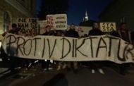 PROTEST MLADIH U SUBOTICI ZA SLOBODU MEDIJA I INSTITUCIJA KULTURE