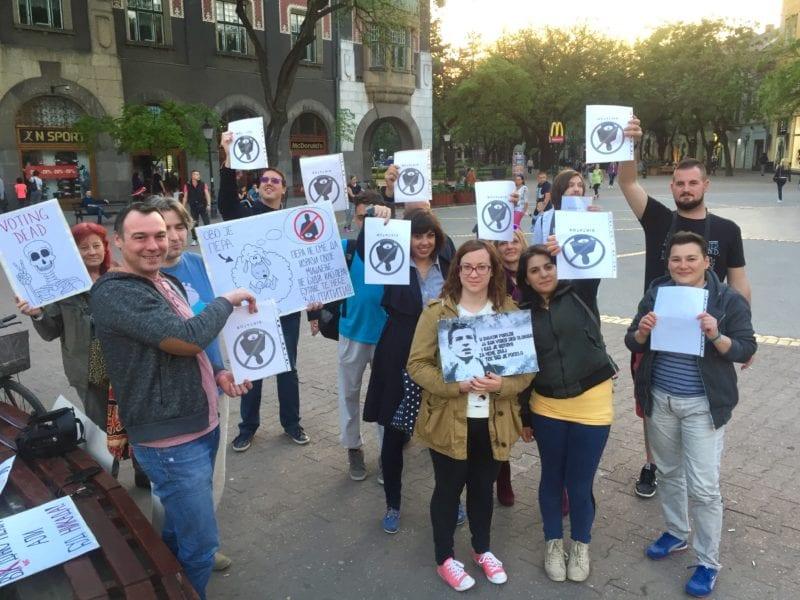 PROTEST U SUBOTICI: POTREBNO OSNIVANJE INTERNET SAJTA I UDRUŽENJA GRAĐANA