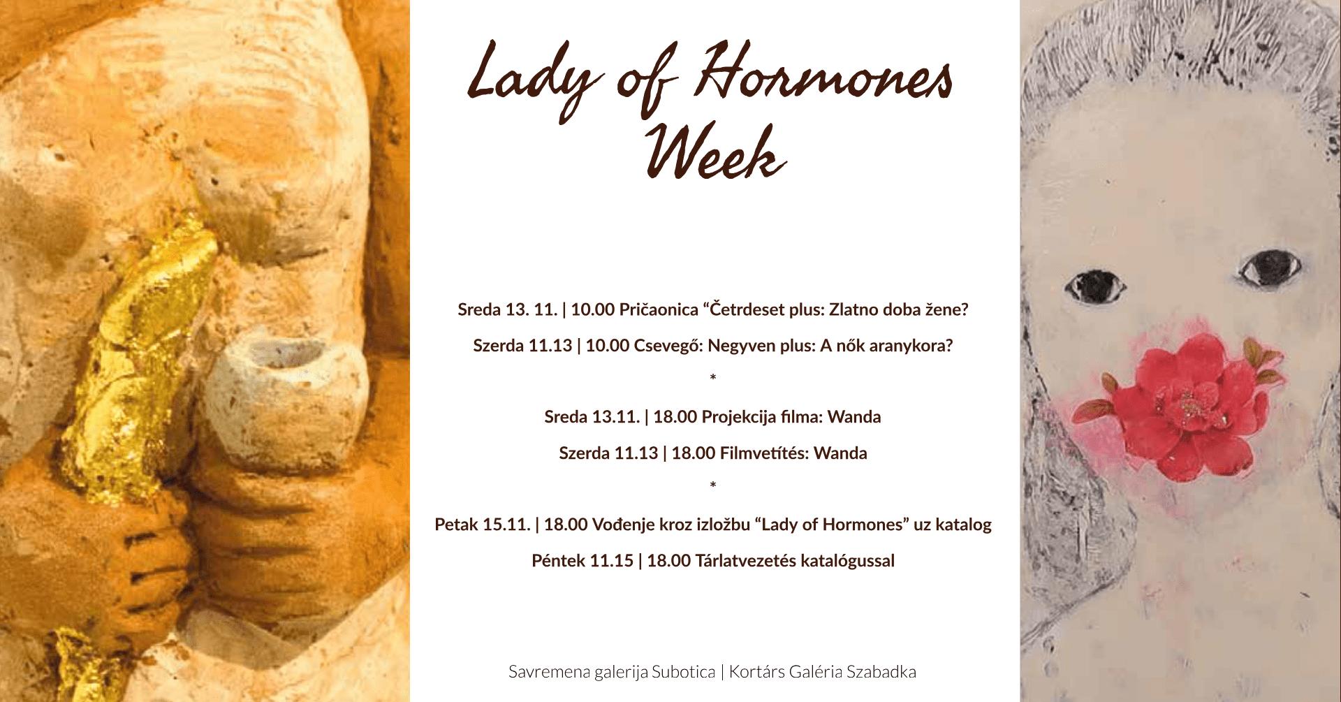 LADY OF HORMONES WEEK U SAVREMENOJ GALERIJI SUBOTICA