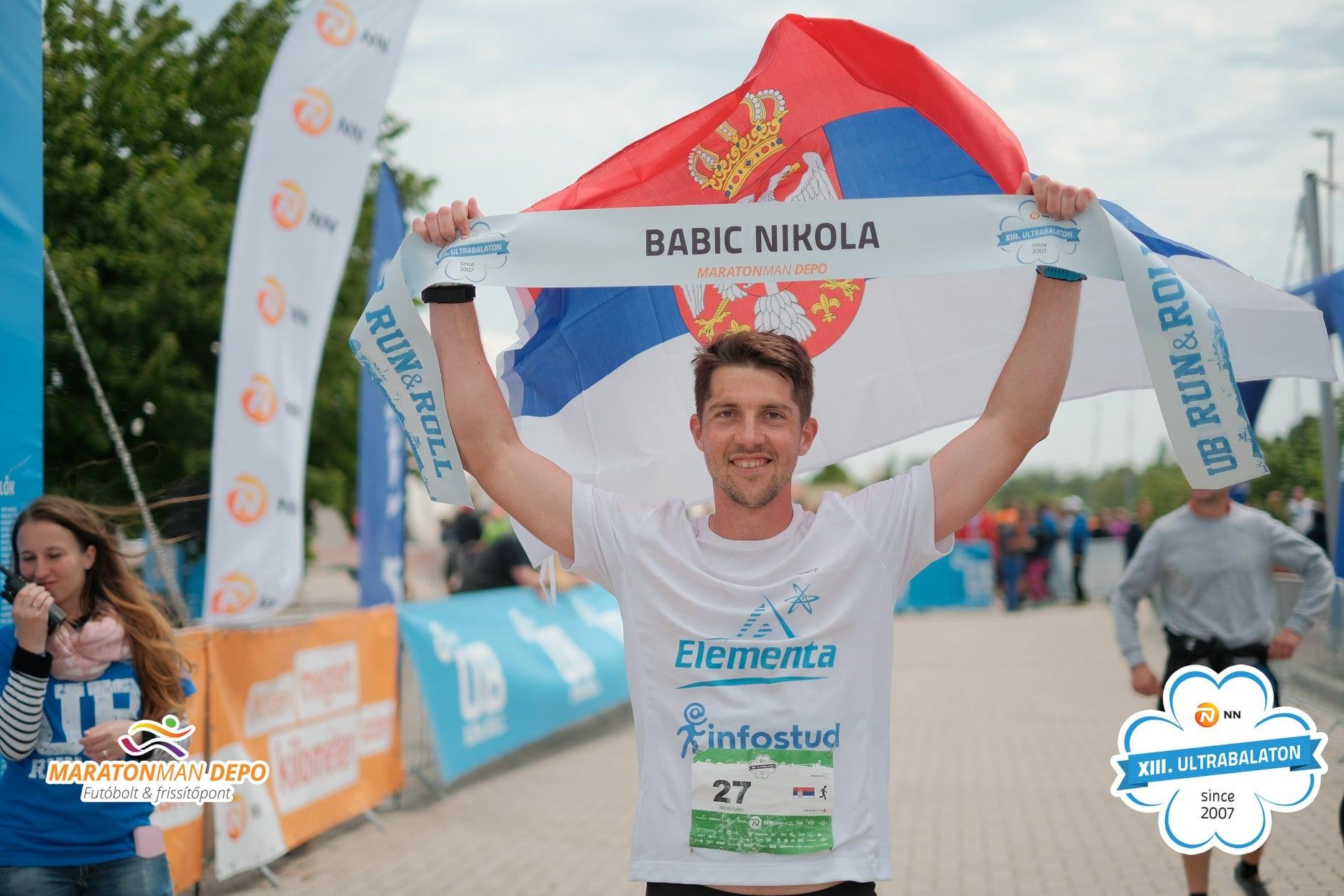 Nikola Babić, ultramaratonac: Cilj mi je da istrčim preko 200 kilometara za 24 sata